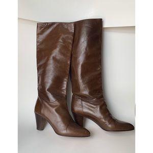 Vintage Andrea Carrano Brown Boots